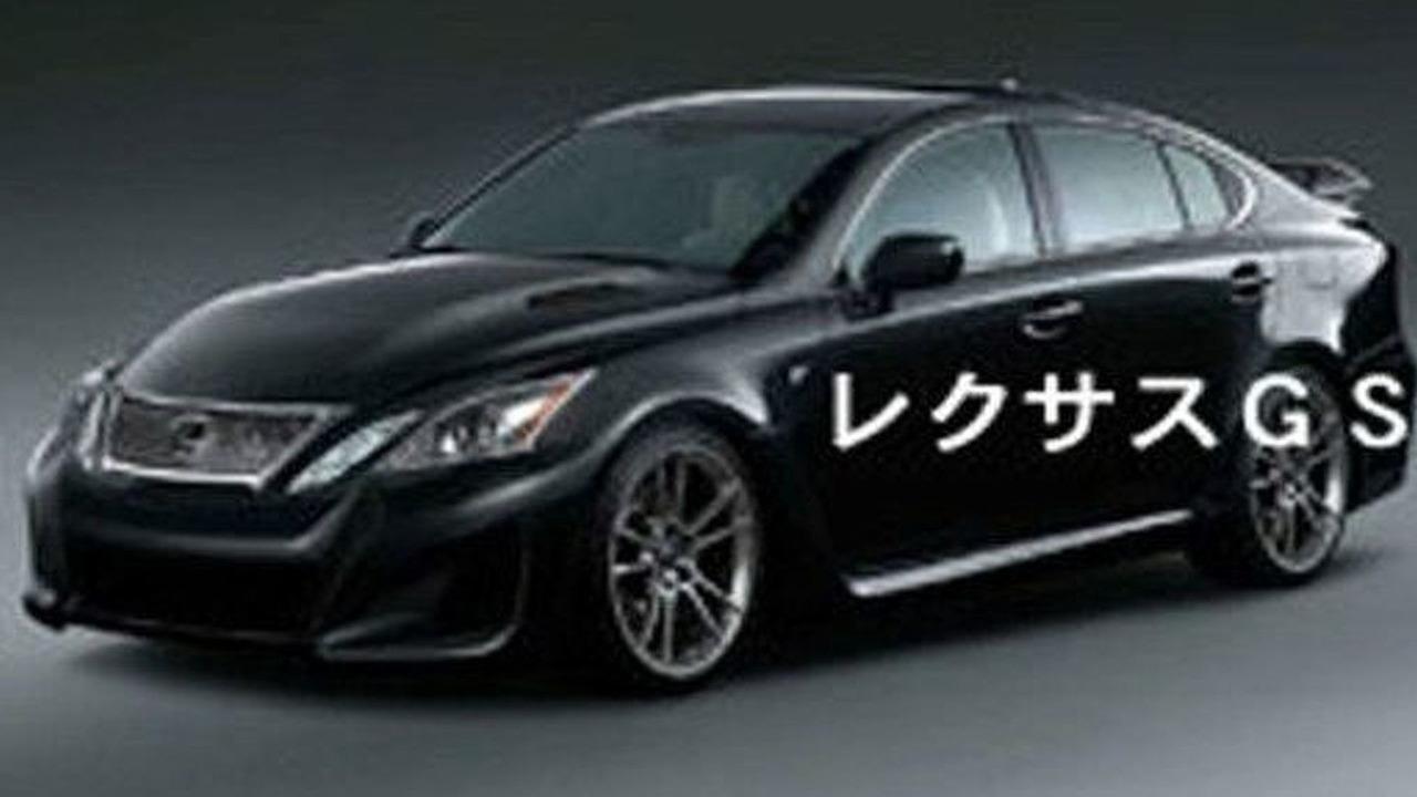 Lexus GS F Rendering