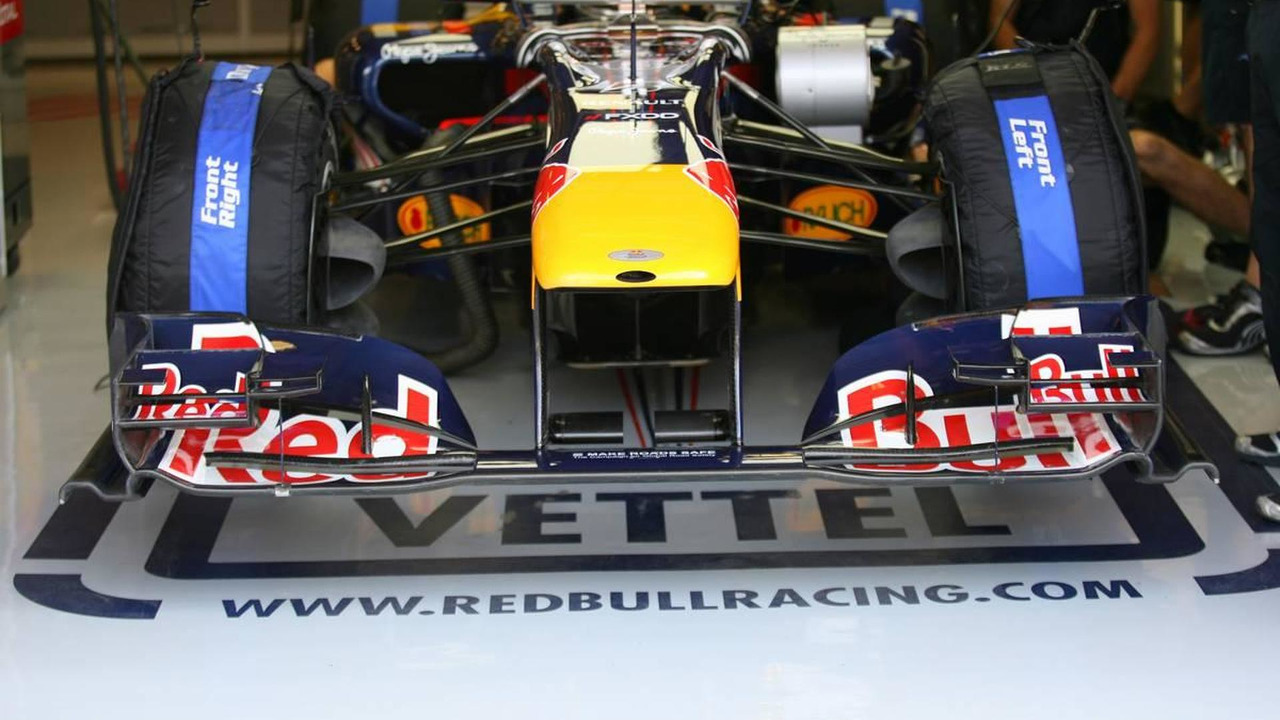 Red Bull front wing, Hungarian Grand Prix, 30.07.2010 Budapest, Hungary