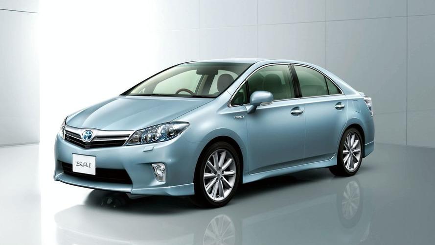 2010 Toyota Sai Hybrid Revealed