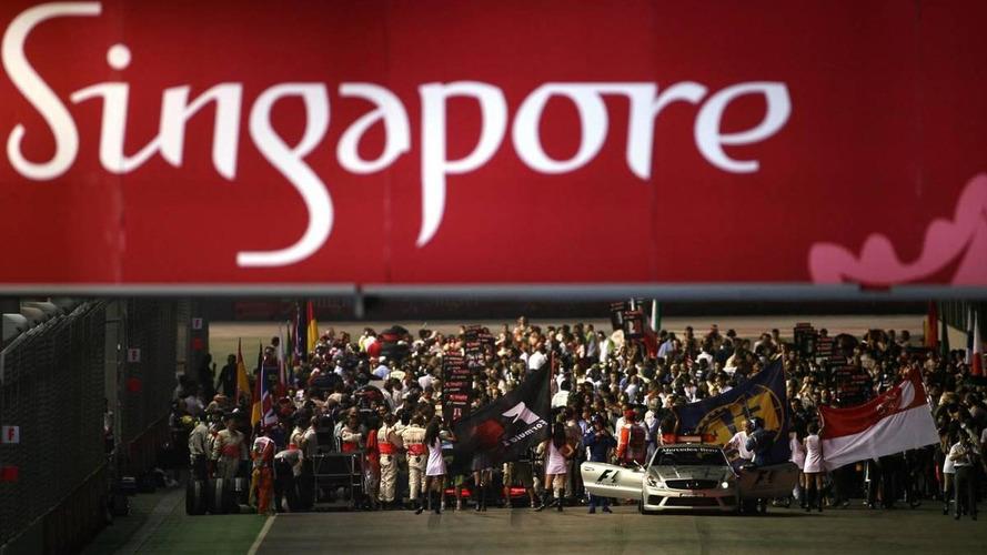 Singapore denies no time for F1 track preparation