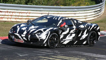 McLaren P11 Spied on Nurburgring