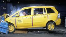 Opel Zafira Euro NCAP crash test