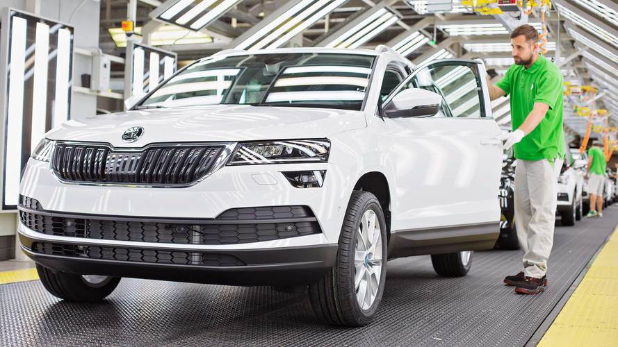 Škoda - Un million de voitures produites en 2017