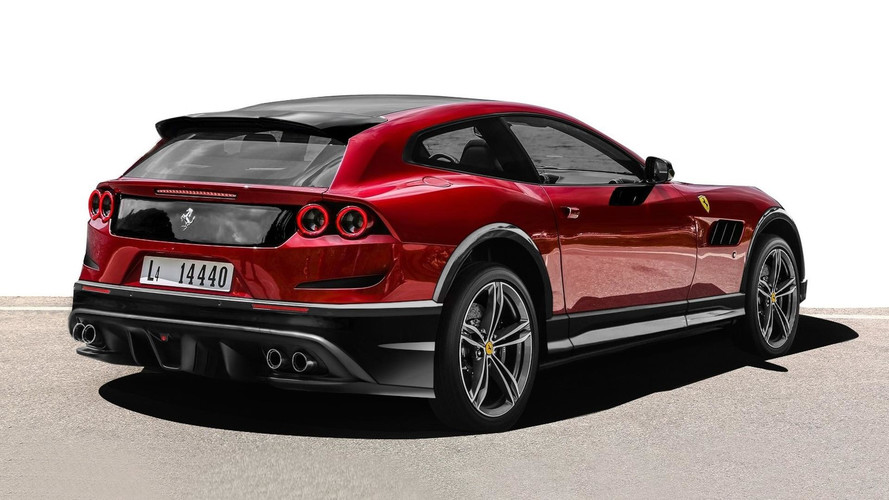 Ferrari Utility Vehicle Idea Fuels Imagination: Rugged GTC4Lusso