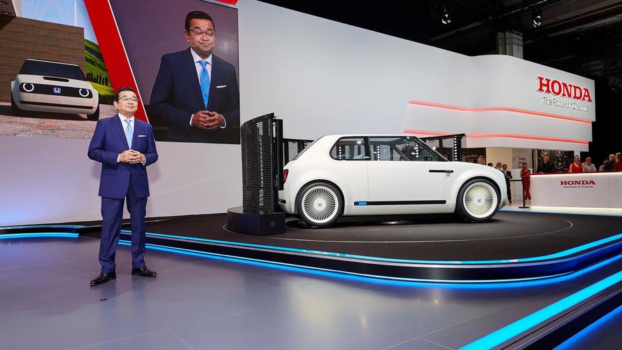 Artık Honda modellerinin tamamı elektriklenecek