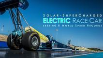 Top EV Racing on the track