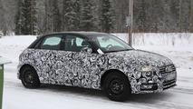 2014 Audi A1 facelift spy photo
