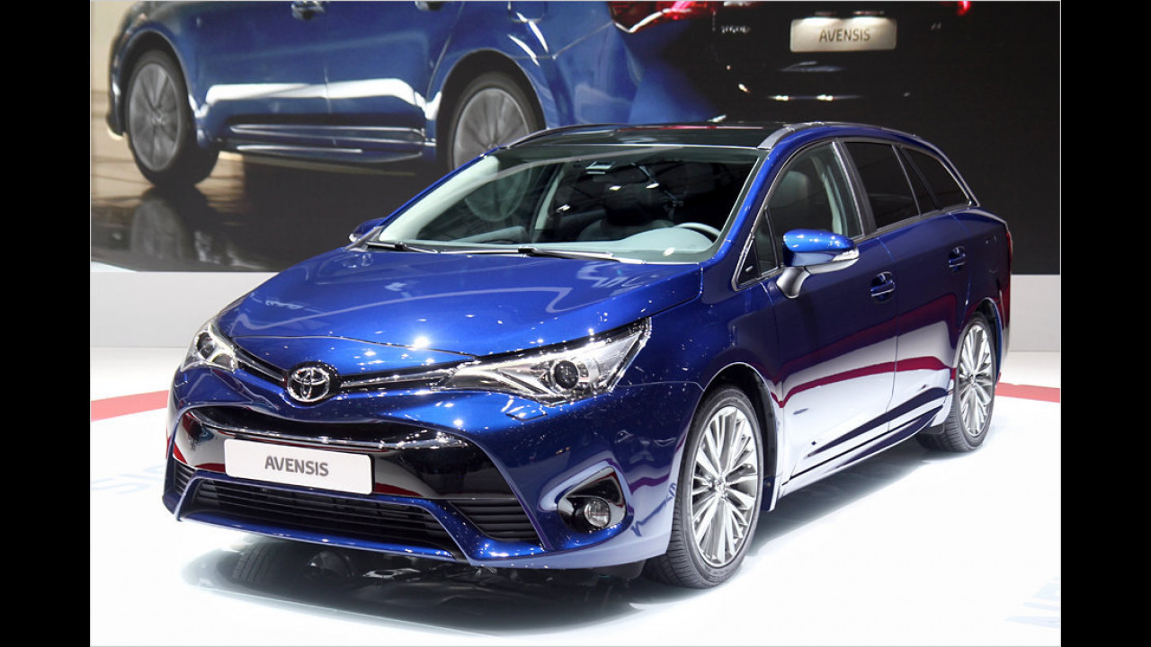 Toyota Avensis Facelift