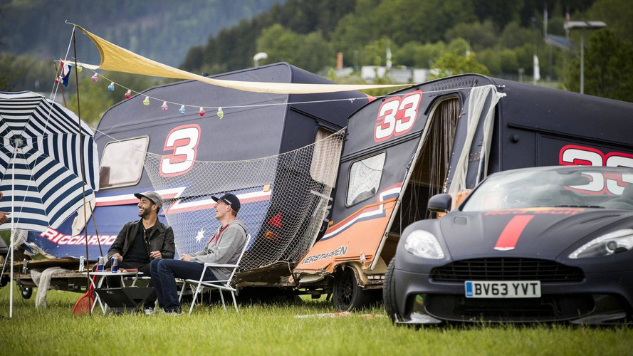 Red Bull Racing Camper yarışı