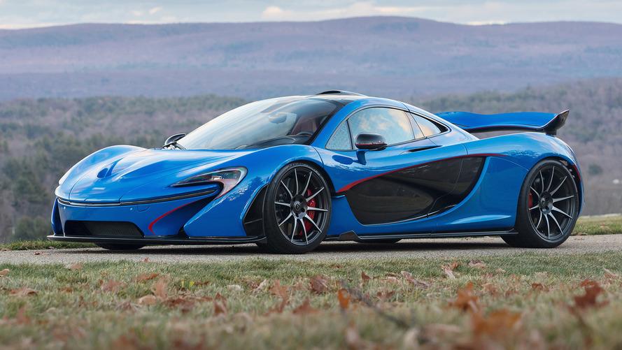 Gelmiş geçmiş en pahalı McLaren P1 2.3 milyon dolara satıldı