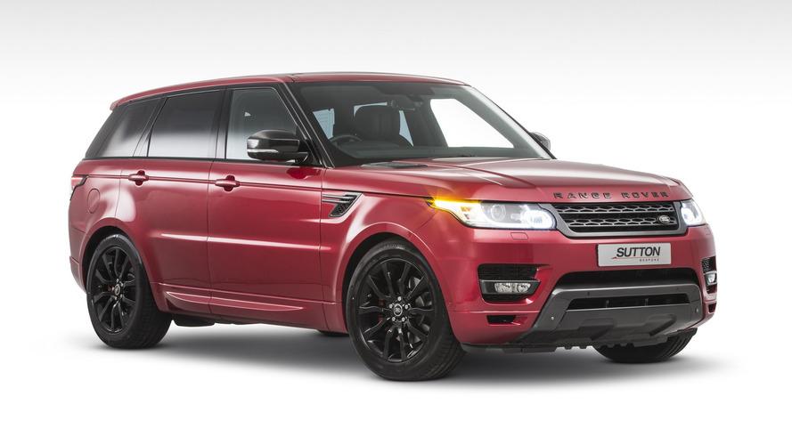 Sutton'dan Range Rover Sport'a az ve öz modifiye