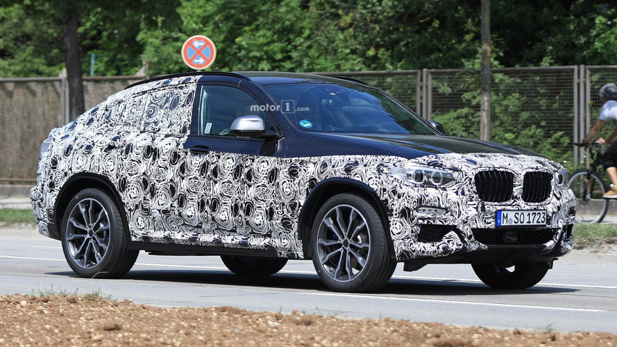 New BMW X4 Spied Quite Possibly In M40i Flavor