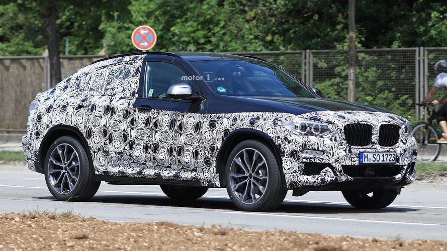 Photos espion - Le nouveau BMW X4 est pratiquement prêt