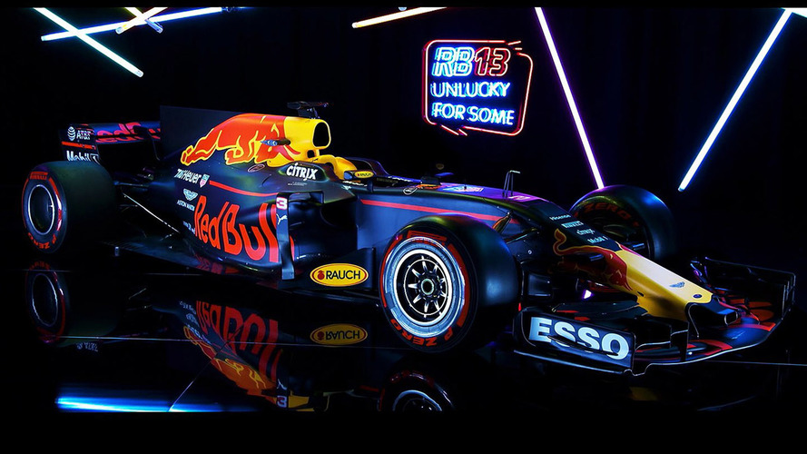 Red Bull Racing RB13 F1 2017