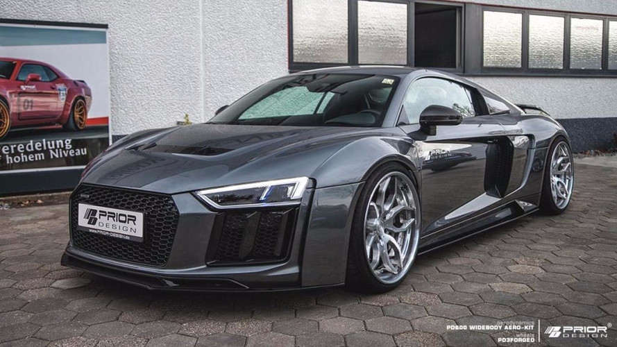 New Audi R8 Kit From Prior Design Adds Menace