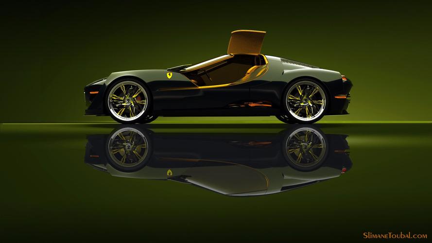 Ferrari 250 Fan-Made Concept by Slimane TOUBAL