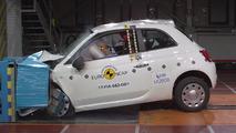 Fiat 500 Euro NCAP test