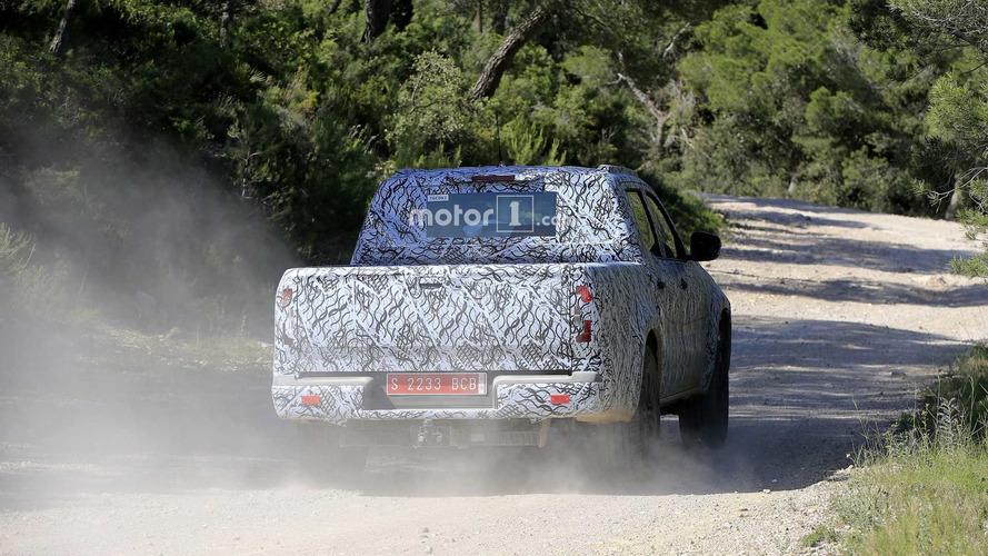 2018 Mercedes X-Serisi yeni casus fotoğrafları