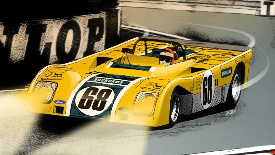 Le Mans en dix décennies - 1972, Gordon Murray et le doute Duckhams