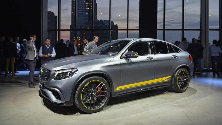 Mercedes GLC63 Brings Its Supercar Speed To New York