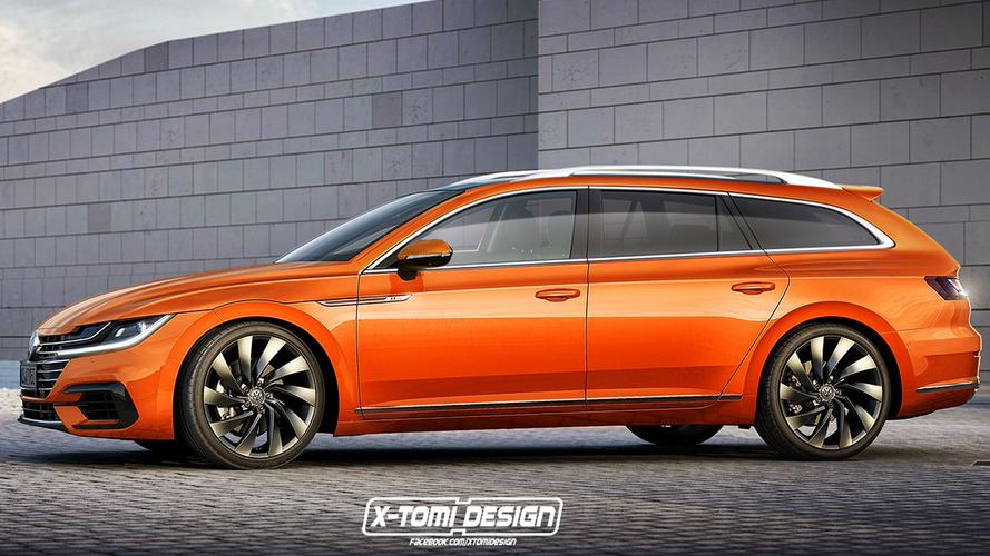 Volkswagen wants to build an Arteon shooting brake. Could this be it?
