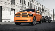 2017 Ram 1500 Ignition Orange Sport