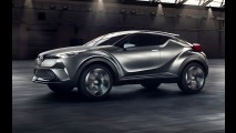 Futuro rival do HR-V, Toyota C-HR de produção terá motor 1.2 turbo