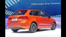 Hatch que parece perua, este é o novo VW Gran Santana - veja fotos