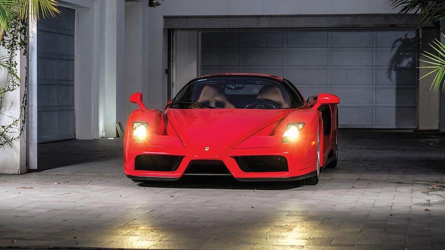 Tommy Hilfiger'in 5,800 kilometredeki Ferrari Enzo'su satılığa çıkarıldı