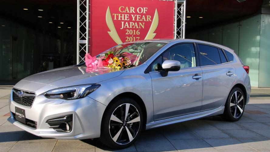 Subaru Impreza desbanca Prius e é eleito Carro do Ano no Japão
