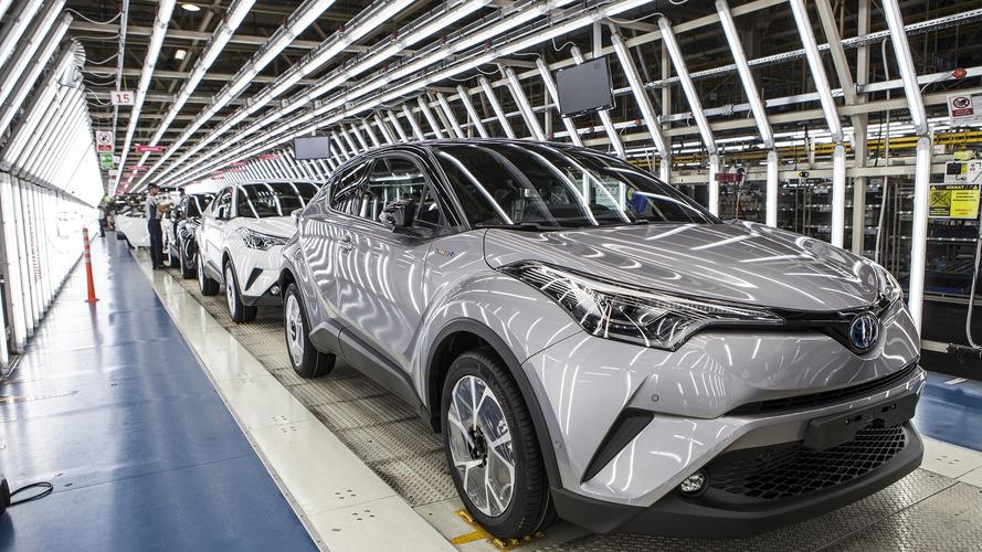 Toyota, Sakarya'da C-HR'nin seri üretimine başladı