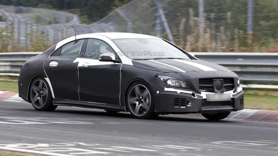 Mercedes-Benz CLA 45 AMG confirmed for September 2013 debut in Frankfurt