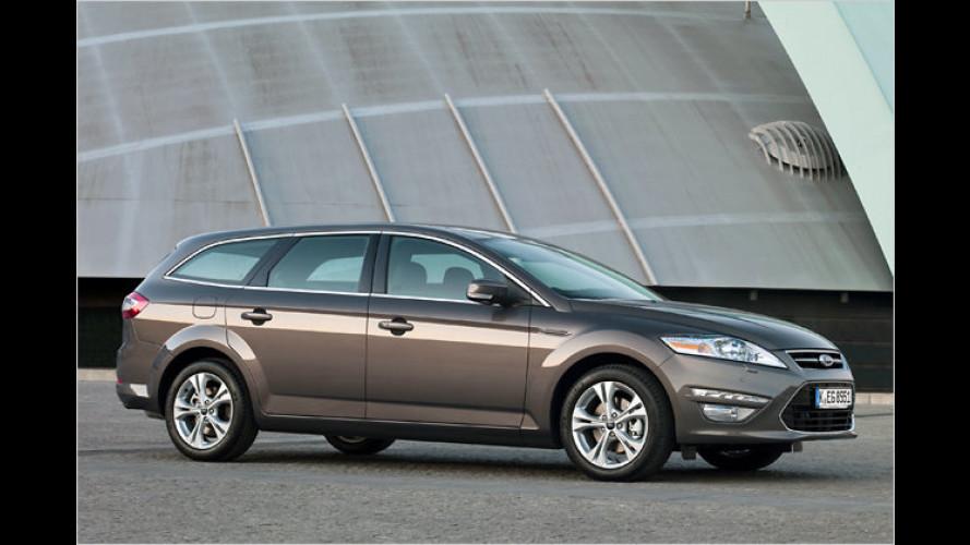 Verbrauch runter: Ford Mondeo mit Downsizing-Diesel