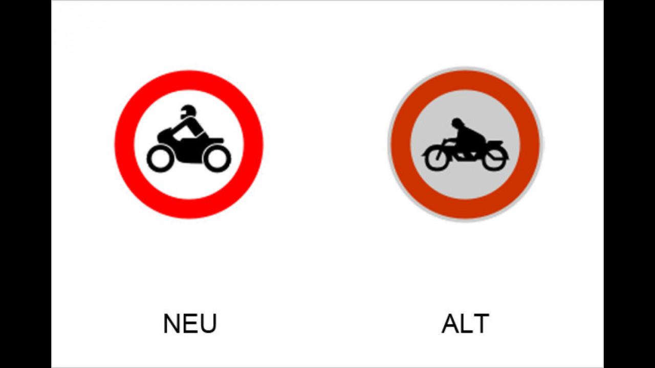 Verbot für Krafträder