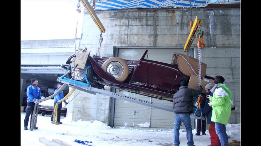 Hoch hinaus für Rolls-Royce