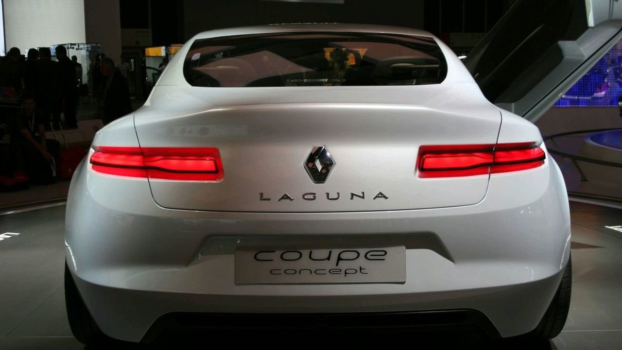 New Renault Laguna Coupe Concept Revealed Photo Gallery