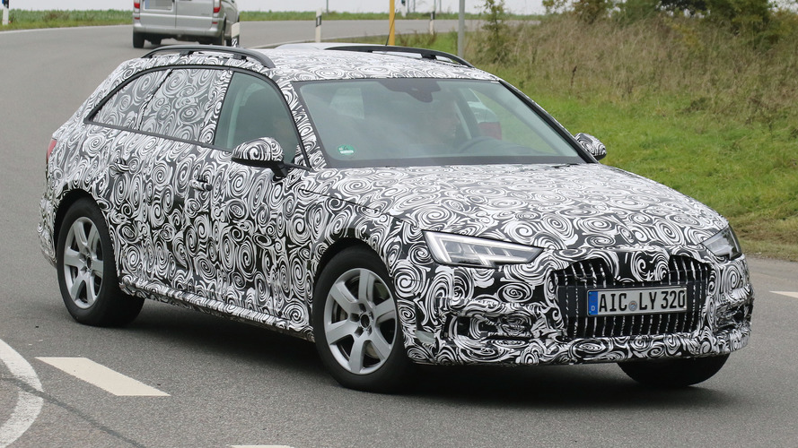 Audi A4 Allroad loses some camo in latest spy shots