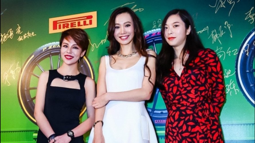 Pirelli, i P Zero colorati sbarcano in Cina