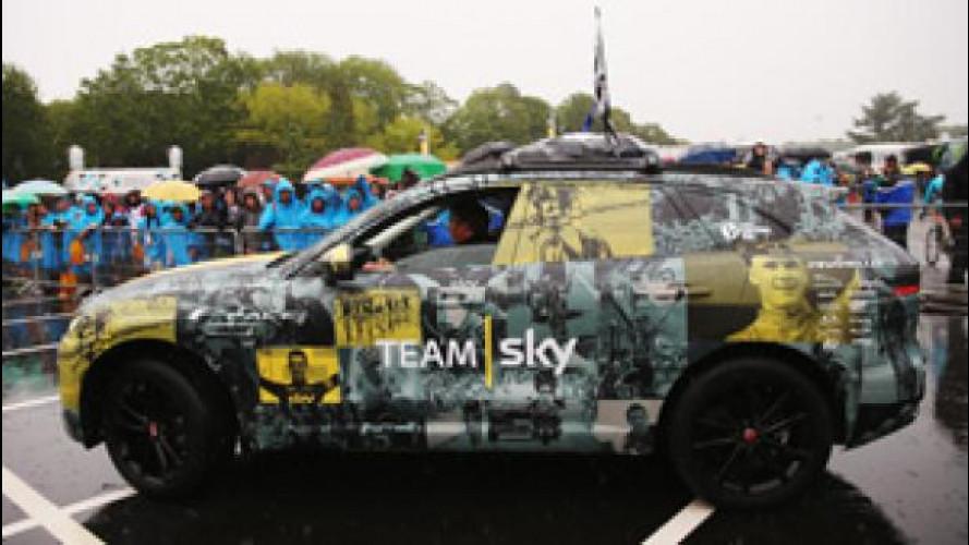 Jaguar F-Pace, al Tour de France per la vittoria del Team Sky