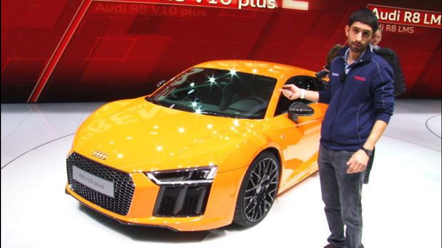 Nuova Audi R8: a Ginevra evoluzione, non rivoluzione
