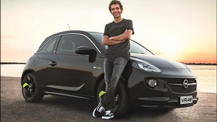 Opel Adam VR|46 Limited Edition, firmata Valentino Rossi
