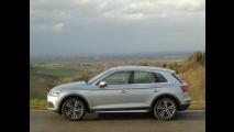 Audi Q5 TDI, test di consumo reale Roma-Forlì