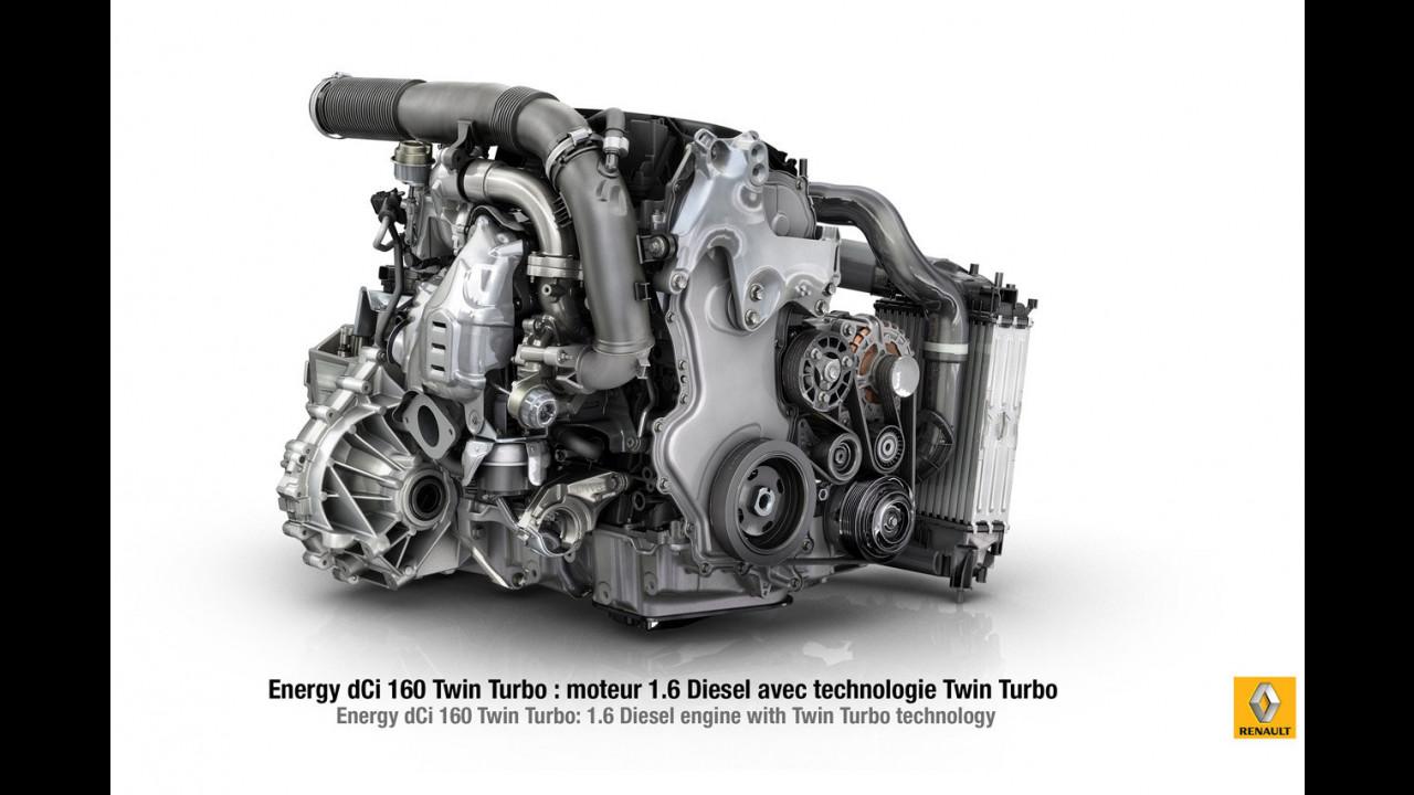 Renault Energy dCi 160 Twin Turbo