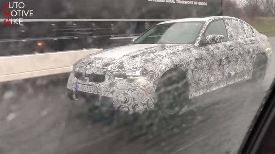 Next-Gen BMW 3 Series Spied Cruising The Autobahn