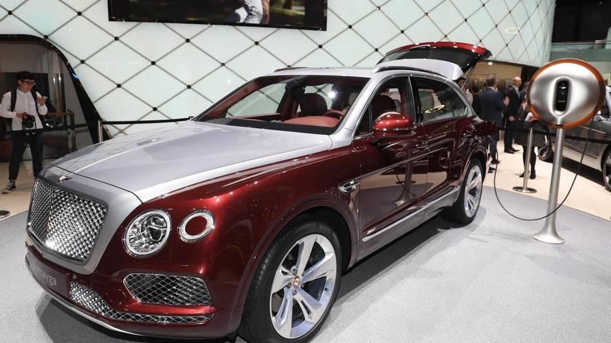 Bentley Bentayga Hybrid at the 2018 Geneva Motor Show