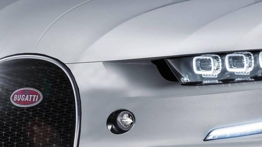 2020 Bugatti SUV Iluustrations