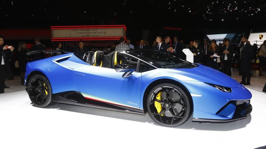 Genève 2018 - La Lamborghini Huracán Spyder Performante se dévoile