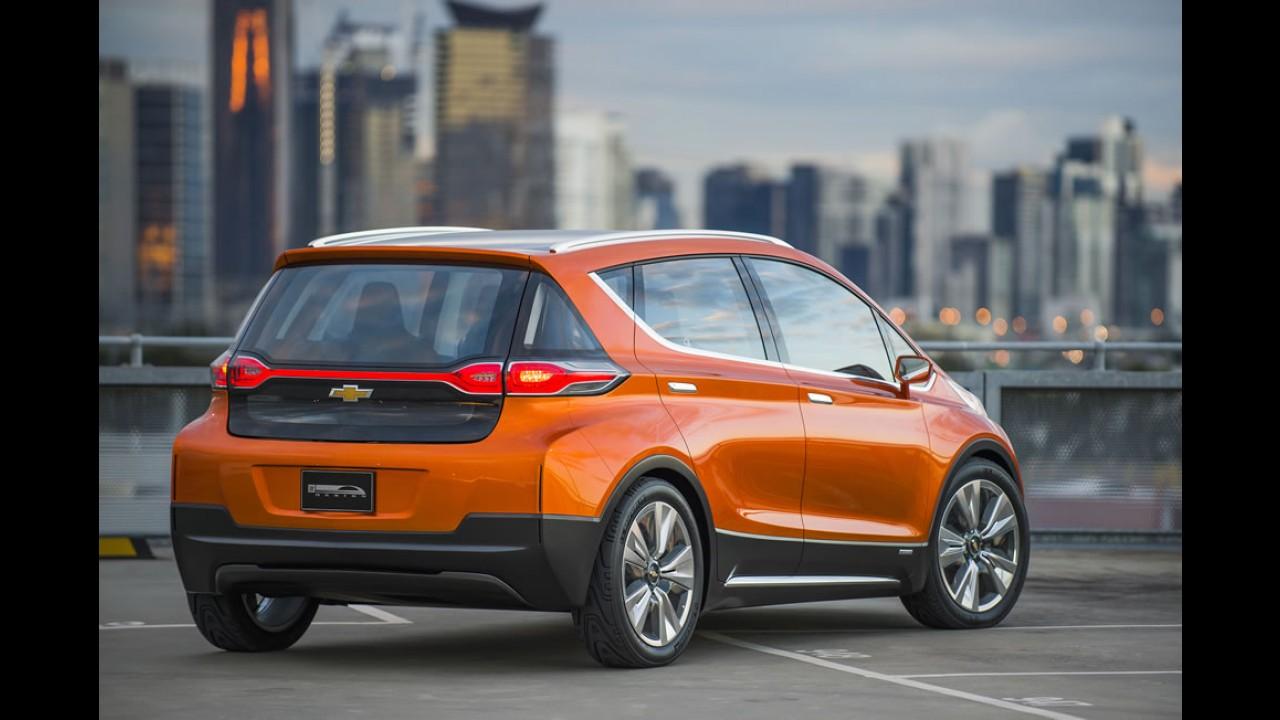 Chevrolet Bolt: elétrico será produzido em série a partir de 2016