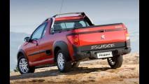 Peugeot Hoggar: Marca divulga fotos e o nome de sua inédita pick-up da linha 207