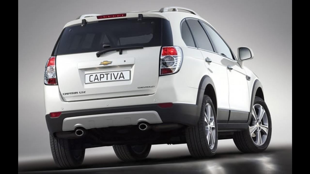 Salão de Paris: Chevrolet Captiva 2012
